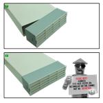 Kair System 204 Rectangular 204x60mm - White Airbrick / Grille - Plastic Ducting