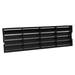 SYSTEM 225 AIRBRICK GRILLE - BLACK
