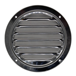 122MM ROUND VENT GRILLE 316G MIRROR POLISH