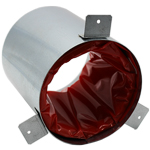 System 100 Firewrap & Galvanised Sleeve Kit - 100mm Round