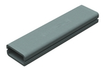 Domus Thermal Megaduct Rigid Duct 220X90mm 1M Insulation Length Grey