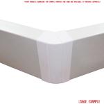 Kair 45 Degree Vertical Elbow Bend 204mm x 60mm - 8 x 2 inch