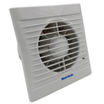 Vent Axia Silhouette 100B Standard Extractor Fan With Shutter (454055)