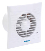 VENT AXIA SILHOUETTE 100H EXTRACTOR FAN WITH HUMIDITY SENSOR (454057)
