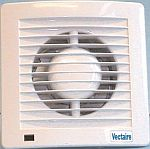 Vectaire AS15TAS Plus Slimline 150mm Axial Fan With Timer