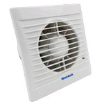 Vent Axia Lo-Carbon Silhouette 150T Fan - 150mm - White