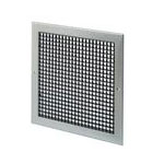 EGG CRATE GRILLE, WHITE RAL 9010 - 500-500MM