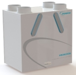Nuaire MRXBOX95AB-WM2 - Wall Mounted Multi Room Heat Recovery Unit With Humidistat & ...