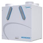 Nuaire Mrxboxab-ECO2 - Wall Mounted Multi Room Heat Recovery Unit