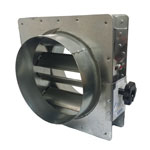 Volume Control Damper - Circular Spigot Fit - 100mm