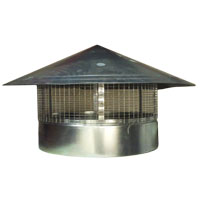Galv Hu Roof Cowl - 500mm - Steel Galvanised