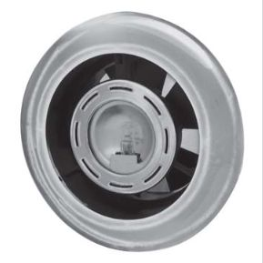 Manrose BSL112C Extract-A-Lite Fan - 12V Dc 100mm - Chrome