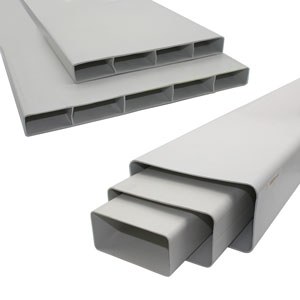 Flat Duct - Straight Channel