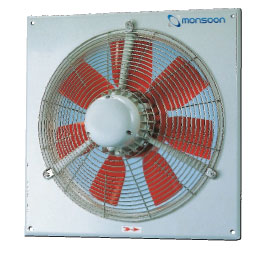 630MM THREE PHASE 6 POLE FLAME PROOF FAN (12,400M3/HR)