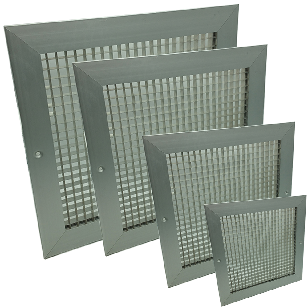 Egg Crate Grilles - White