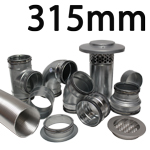 Metal Ducting - 315mm Round System
