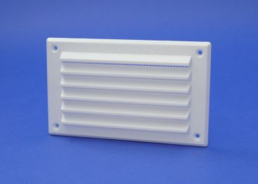 RYTONS 6X3 LOUVRE VENTILATION GRILLE WITH FLYSCREEN
