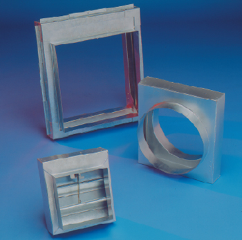 Fire Damper - Rectangular with Installation Frame