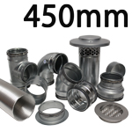 Metal Ducting - 450mm Round System