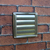 Kair 125mm Wall Outlet - Gravity Grille Stainless Steel Ducting Vent