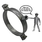 Galvanised Duct Suspension Ring - 100mm
