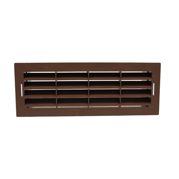 Airbrick Grille With Surround - VKC703, 753, 247 - Brown