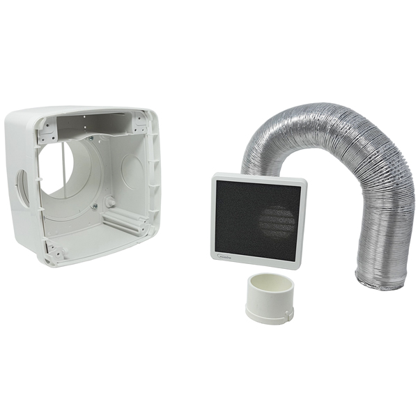 Nuaire Cyfan Subsidary Spigot Kit for adjoining Bathroom or Wc