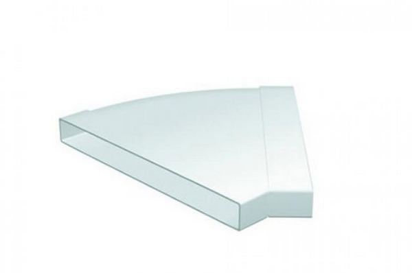Domus 308X29mm 45 Degree Horizontal Bend White Pv Low Profile 300...