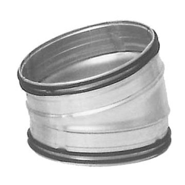 Galvanised Safe Pressed Bend 15 Degree - 200mm