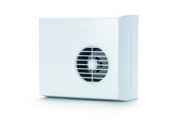 Domus Curzon Centrifugal 100mm Timer Low Voltage (SELV) Bathroom Fan White (CUR9...