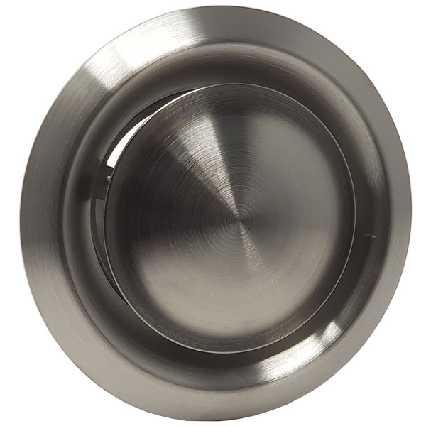 Kair Ceiling Valve 125mm - 5 inch Stainless Steel Adjustable Supply and Extract ...