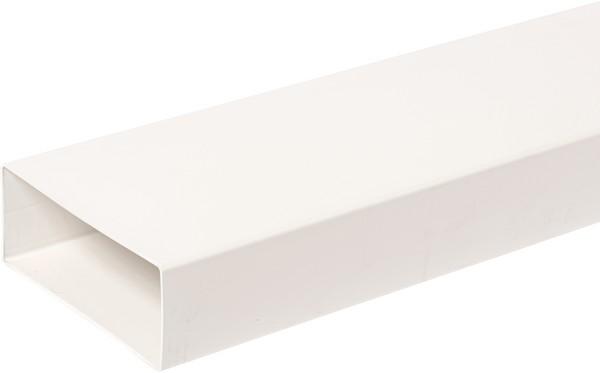 Domus Megaduct Rigid Duct 220X90mm 2M Length White