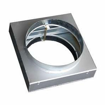 CIRCULAR FIRE DAMPER 355MM GALVANISED