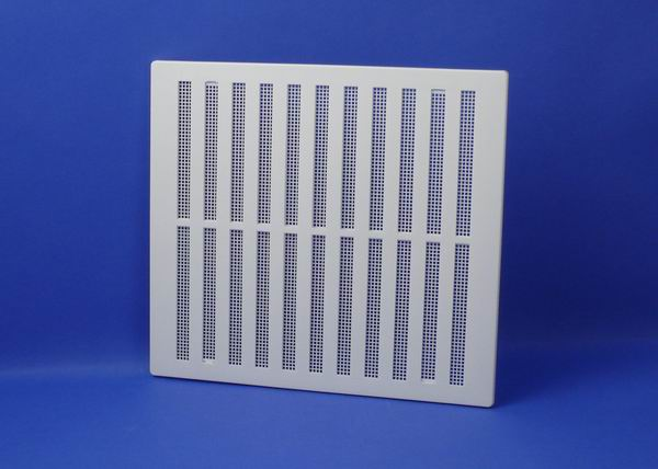 RYTONS 9X9 FLAME RETARDANT HIT & MISS VENTILATION GRILLE