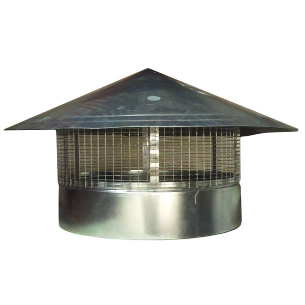 GALV HU ROOF COWL - 600MM - STEEL GALVANISED