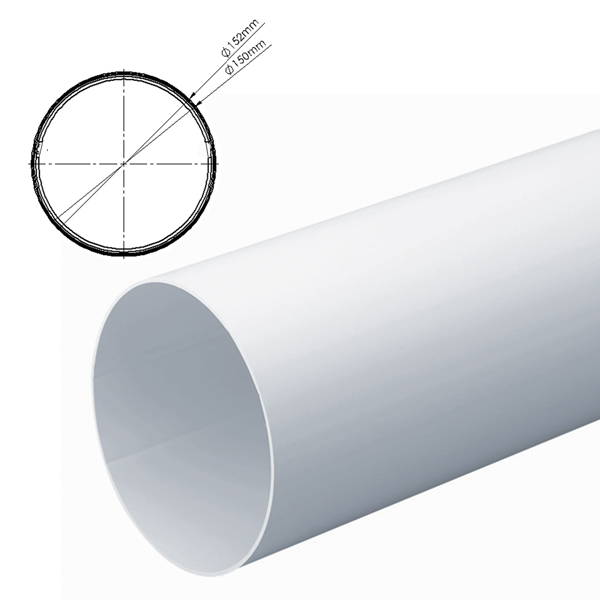 Inner Ducting Sleeve For 150mm Round Pipe 1M - Not compatible with standard 150m...