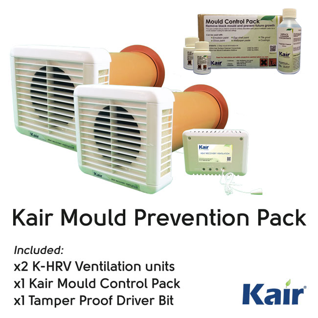 Kair KHRV150/12RH Special Offer Pack