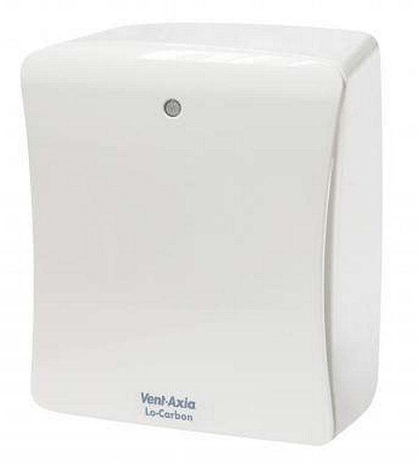 Vent Axia Lo Carbon Solo Plus Tm (427484) Centrifugal Fan With Timer And PIR
