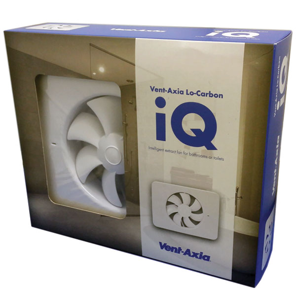 Vent axia extractor fans for bathrooms - Lo Carbon Iq Vent Axia Axial Fan 405155