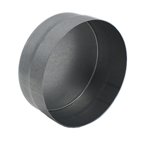 Ducting End Cap - Male-Female - 100mm
