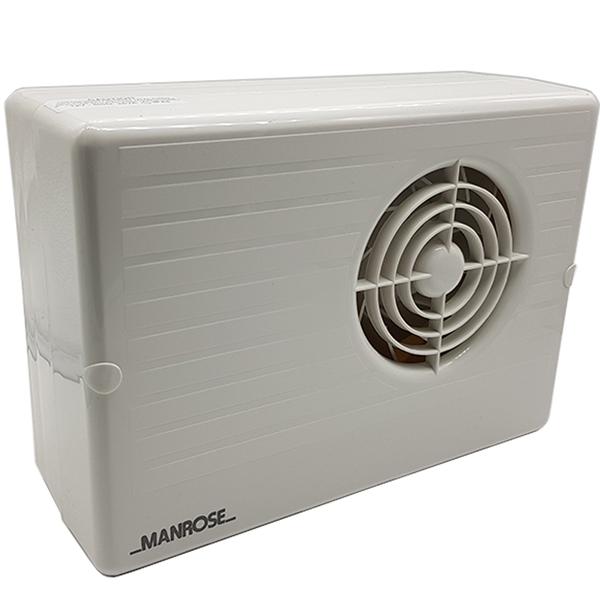 Manrose CF200LV Centrifugal Bathroom Fan - 100mm