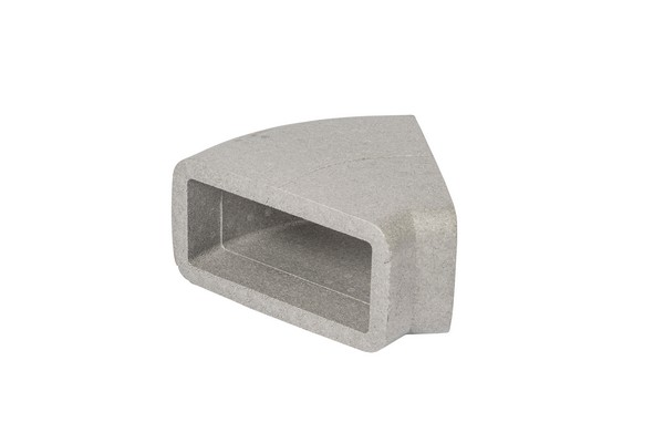 Nuaire Ductmaster Thermal Ntd-204-45H - Insulated 204X60mm 45 Deg...