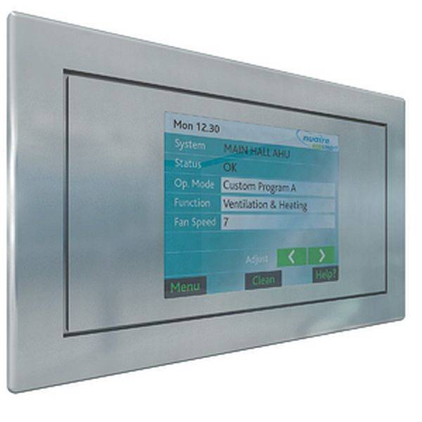 Ecosmart Lcd User Control Panel With Touch Screen And Time Clock