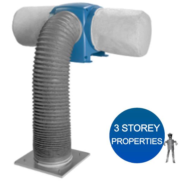 Nuaire Drimaster Eco 3S Loft Control 3 Storey Property Positive Input Ventilatio...