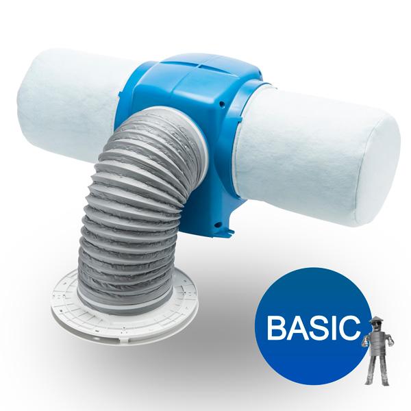 Nuaire Drimaster Eco Hall Control Diffuser Positive Input Ventilation Unit