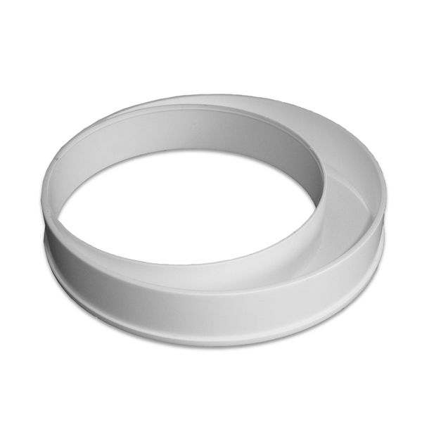 Kair 125mm To 100mm Offset Reducer Plastic Duct