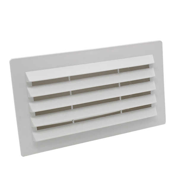 Rectangular Ducting 180mm X 90mm  - Airbrick With Damper
