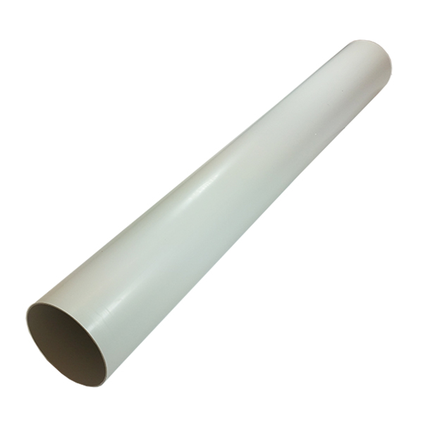 Kair System 125 Round 125mm Ducting Pipes - 2 Metre Length - Pack of 6