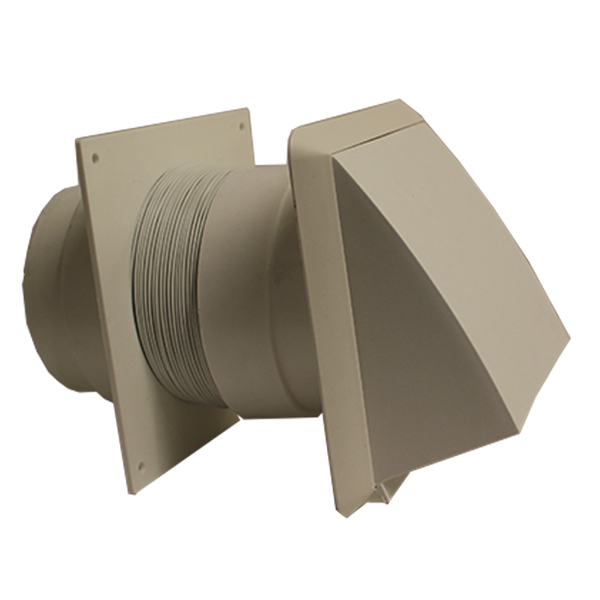 100mm 1 Metre Flexible Hose Kit With Cowl Outlet...