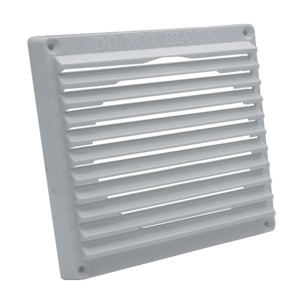 Rytons 6X6 Aircore Louvre Grille White...